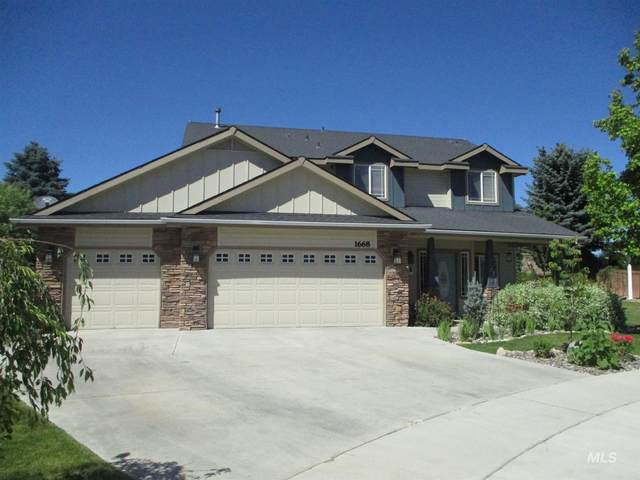 1668 W Puzzle Creek Ct., Meridian, ID 83646 (MLS #98771540) :: City of Trees Real Estate
