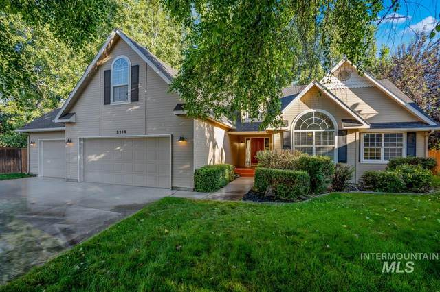 2114 W Parkstone, Meridian, ID 83646 (MLS #98772628) :: Minegar Gamble Premier Real Estate Services