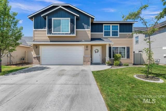 677 N Scotney Ave., Meridian, ID 83642 (MLS #98776355) :: Build Idaho