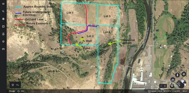 Lot 4 Tbd Orchard Lane, Kooskia, ID 83539 (MLS #98781486) :: City of Trees Real Estate