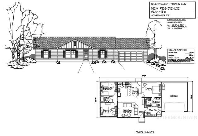 419 W 3rd St., Emmett, ID 83617 (MLS #98781577) :: New View Team