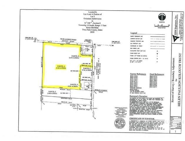 TBD Martin St, Twin Falls, ID 83301 (MLS #98781787) :: Boise River Realty