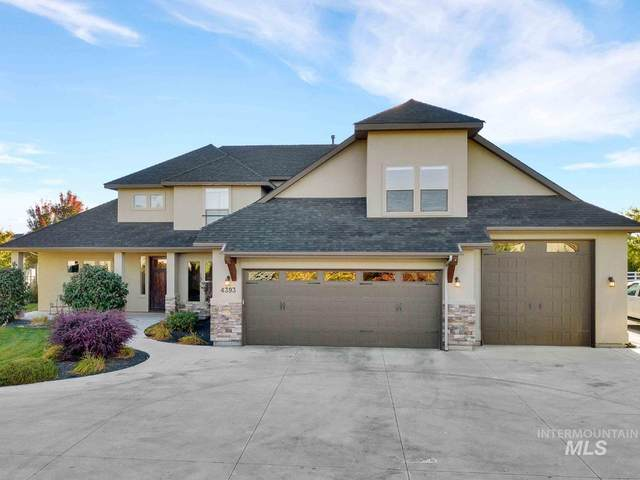 4393 W Pine Meadows Ct, Eagle, ID 83616 (MLS #98784721) :: Bafundi Real Estate