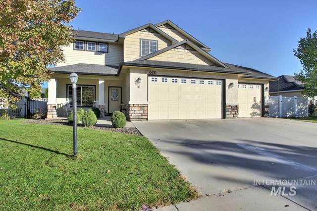 670 W Ashby Dr, Meridian, ID 83646 (MLS #98785181) :: New View Team