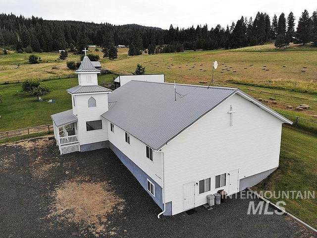 75 Mt. Idaho Loop Road, Grangeville, ID 83530 (MLS #98788918) :: Minegar Gamble Premier Real Estate Services