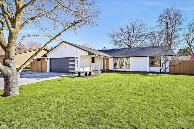 5269 W Bainbridge Drive, Boise, ID 83703 (MLS #98791422) :: Build Idaho