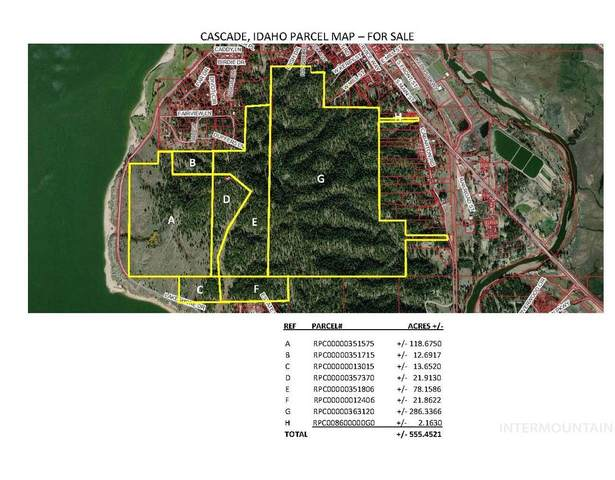 0 Lakeshore Dr, Cascade, ID 83611 (MLS #98794043) :: Team One Group Real Estate