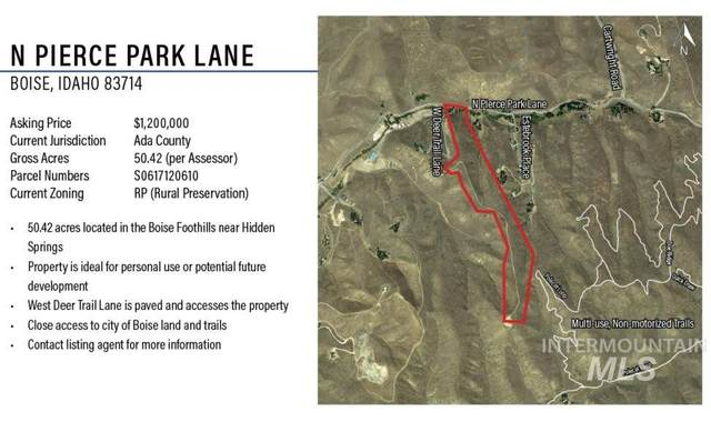 0 N Pierce Park Lane, Boise, ID 83714 (MLS #98794156) :: Build Idaho