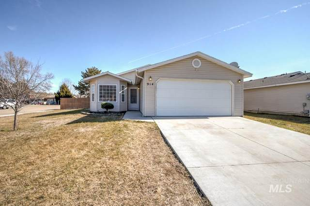 914 Mason Loop, Nampa, ID 83686 (MLS #98795319) :: Build Idaho