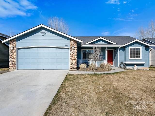 740 E Blue Heron St, Meridian, ID 83646 (MLS #98795361) :: Build Idaho