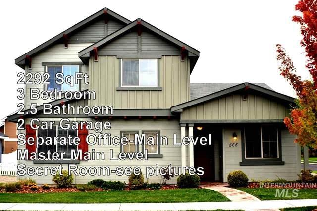565 N Baxter Way, Eagle, ID 83616 (MLS #98795437) :: Navigate Real Estate