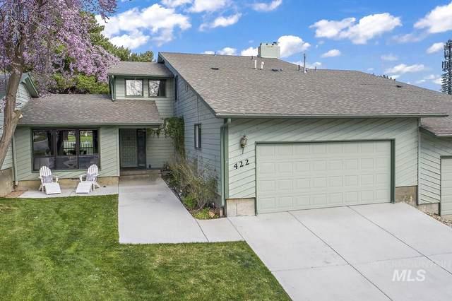 422 Moraine Place, Eagle, ID 83616 (MLS #98799013) :: Build Idaho