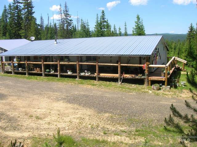 357 Hidden Springs Road, Elk City, ID 83525 (MLS #98802177) :: Team One Group Real Estate