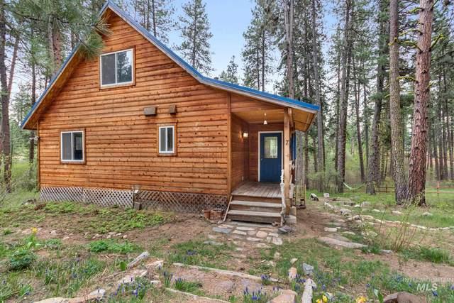 7 Bull Pine Road, Idaho City, ID 83631 (MLS #98803076) :: Boise River Realty