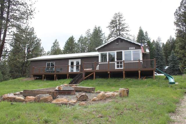 2163 West Mountain Rd, Donnelly, ID 83615 (MLS #98806854) :: Scott Swan Real Estate Group