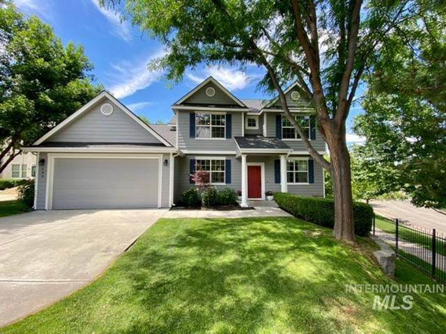 580 E Whitney Ct, Eagle, ID 83616 (MLS #98807952) :: Jon Gosche Real Estate, LLC