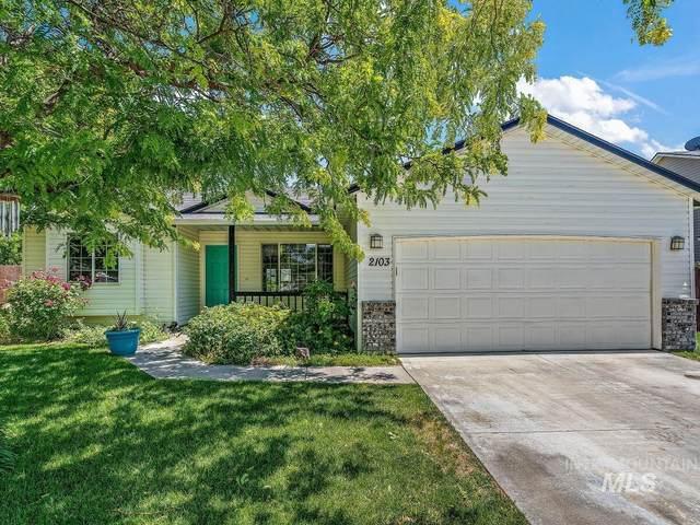 2103 W Mountain Pointe, Nampa, ID 83657 (MLS #98808406) :: Boise Home Pros