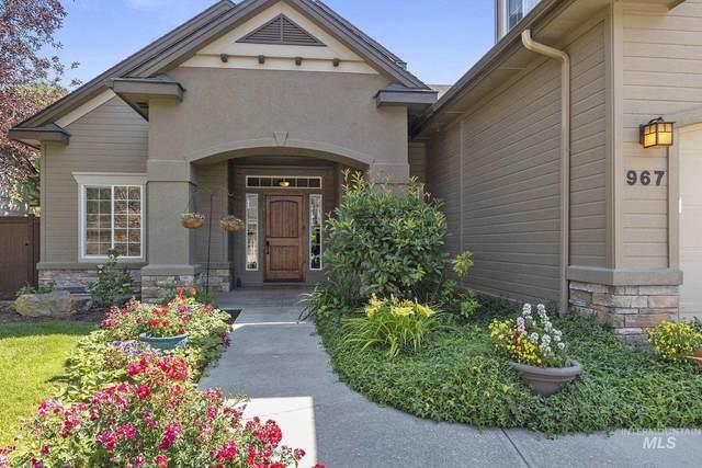 967 W Barrymore, Meridian, ID 83646 (MLS #98809751) :: Jon Gosche Real Estate, LLC