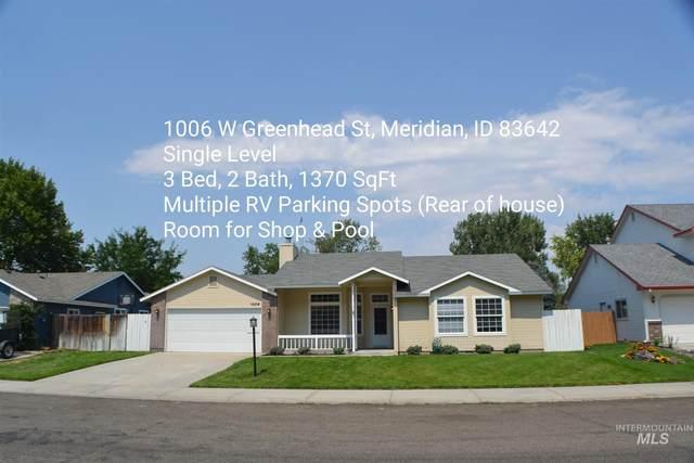 1006 W Greenhead St, Meridian, ID 83642 (MLS #98812157) :: Jon Gosche Real Estate, LLC