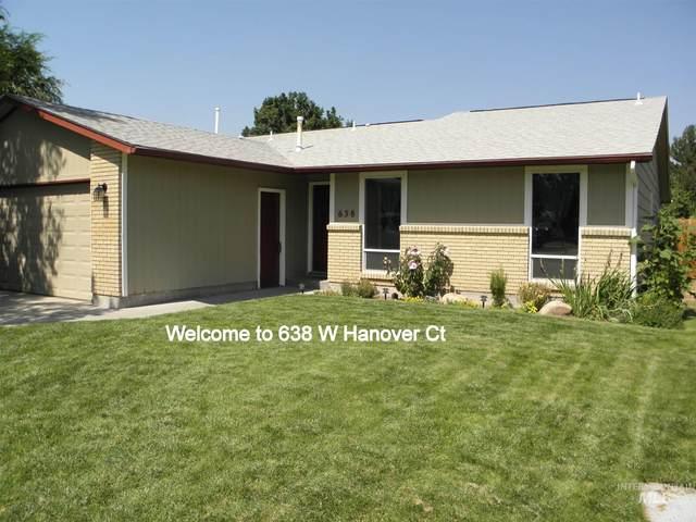 638 W Hanover Ct, Meridian, ID 83642 (MLS #98813059) :: Trailhead Realty Group