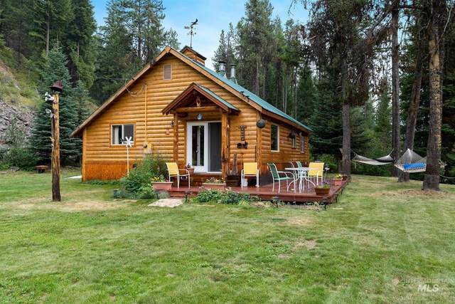 1710 Johnson Creek Road, Cascade, ID 83611 (MLS #98813168) :: Full Sail Real Estate