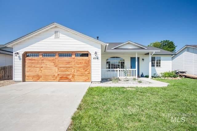4814 Buffalo Grass Ave, Caldwell, ID 83607 (MLS #98813636) :: Full Sail Real Estate