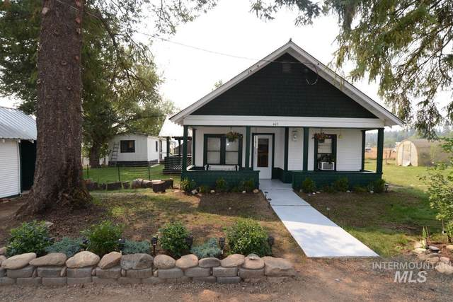 407 Wood Street, Weippe, ID 83553 (MLS #98813821) :: Boise Home Pros