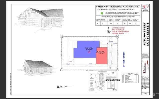 1075 W 10th St, Weiser, ID 83672 (MLS #98815997) :: Idaho Life Real Estate