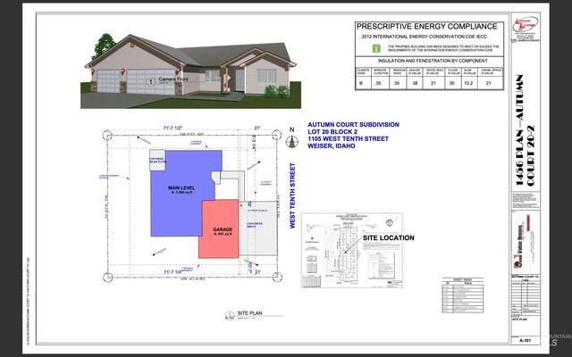 1105 W 10th St, Weiser, ID 83672 (MLS #98816011) :: Idaho Life Real Estate