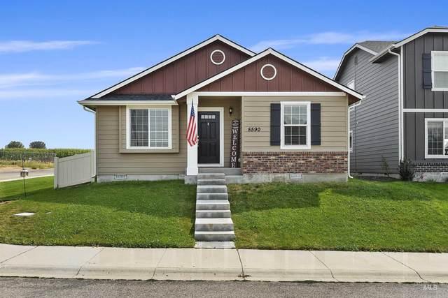5590 S Summit Creek Way, Boise, ID 83709 (MLS #98819919) :: Build Idaho