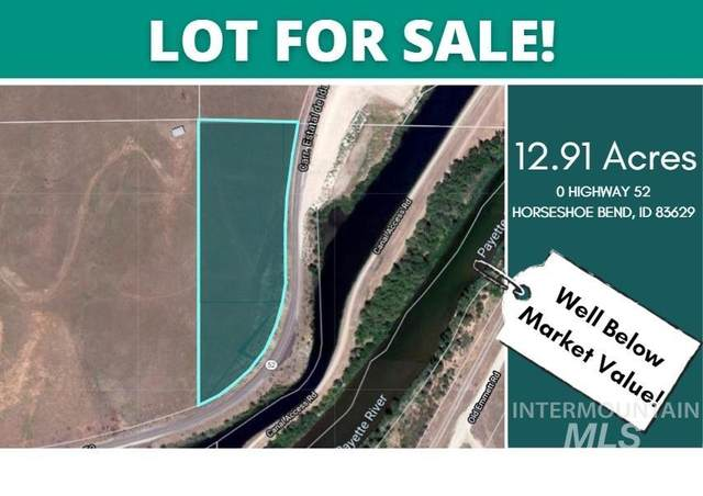 TBD Hwy 52, Horseshoe Bend, ID 83629 (MLS #98820675) :: Build Idaho