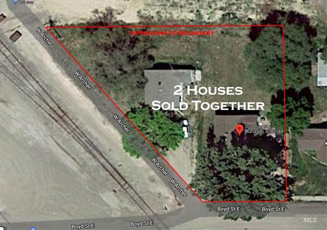 201 & 203 Boyd St E (2 Houses), Murtaugh, ID 83344 (MLS #98821656) :: Epic Realty