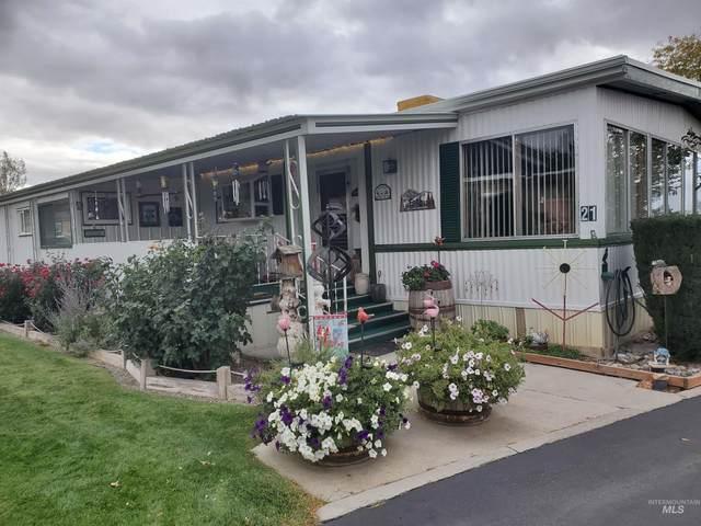 415 Fruitland Ave #21, Buhl, ID 83316 (MLS #98822279) :: Full Sail Real Estate