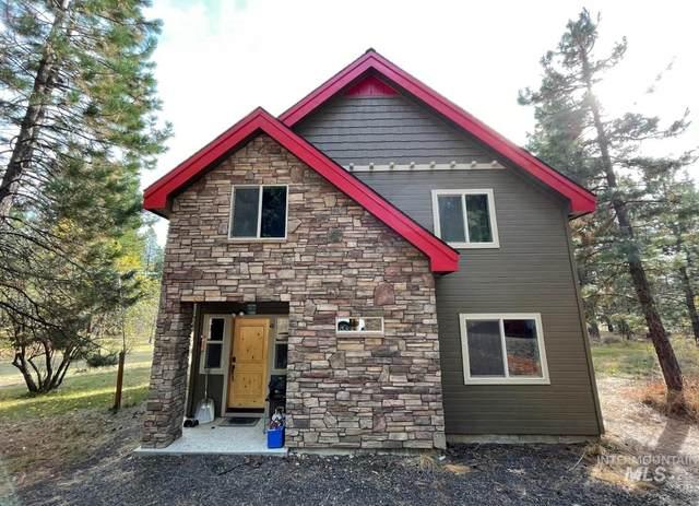 112 Wilderness Ranch Lane, Cascade, ID 83611 (MLS #98823512) :: Minegar Gamble Premier Real Estate Services