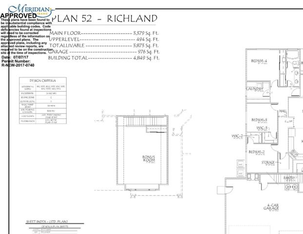 1376 W Whitehall Dr, Meridian, ID 83642 (MLS #98665605) :: The Broker Ben Group at Realty Idaho