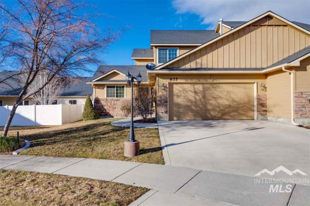 675 N Shadowfox Pl. E-1, Eagle, ID 83616 (MLS #98719653) :: Legacy Real Estate Co.
