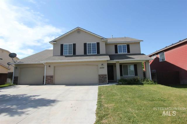 2299 W. Willow Pointe Ave, Nampa, ID 83651 (MLS #98733615) :: New View Team