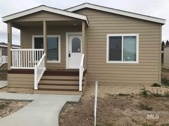 2246 Blue Lake Lane     #74, Boise, ID 83716 (MLS #98738915) :: Idaho Real Estate Pros