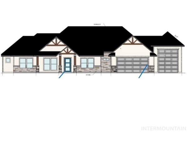 2448 E Brace Drive, Meridian, ID 83642 (MLS #98744505) :: Juniper Realty Group