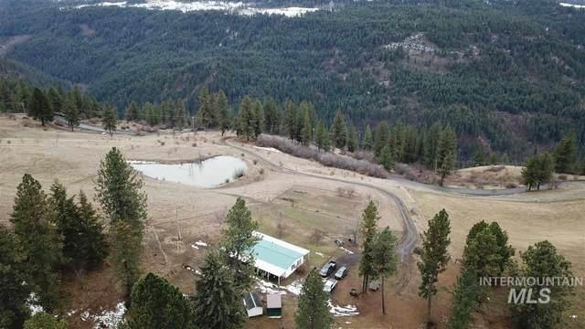 7481 Upper Fords Creek Rd., Orofino, ID 83544 (MLS #98757529) :: New View Team