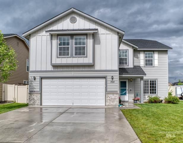 705 N Scotney Avenue, Meridian, ID 83642 (MLS #98767328) :: Minegar Gamble Premier Real Estate Services