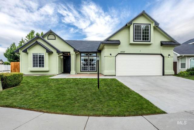 4057 W Bedrock, Meridian, ID 83646 (MLS #98769086) :: New View Team