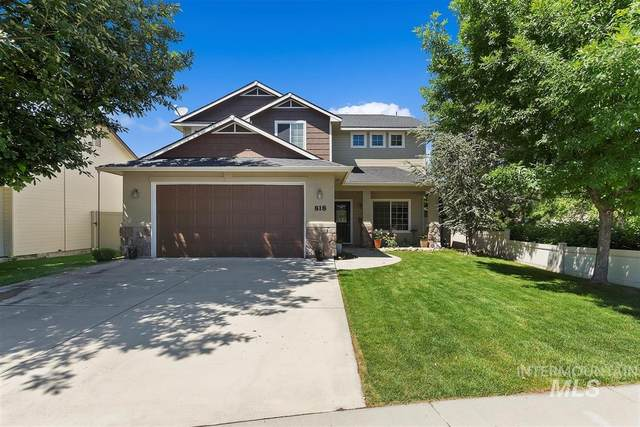 818 W Ashby Dr, Meridian, ID 83646 (MLS #98769413) :: New View Team