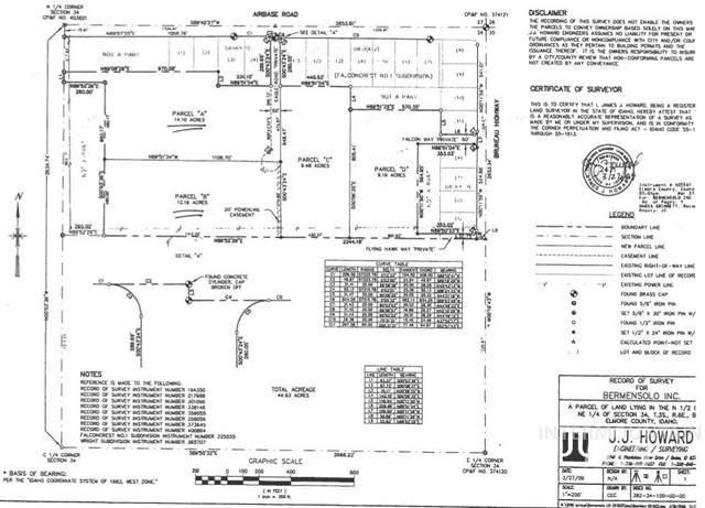 TBD Runway Place, Mountain Home, ID 83647 (MLS #98784077) :: Jon Gosche Real Estate, LLC