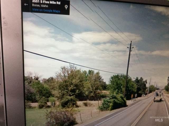 3585-3551 S Five Mile Road, Boise, ID 83709 (MLS #98797308) :: Build Idaho