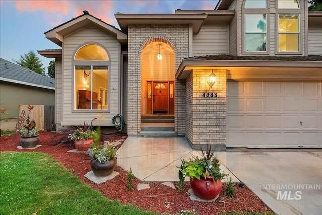 4983 W Baywood St, Boise, ID 83703 (MLS #98808857) :: Michael Ryan Real Estate