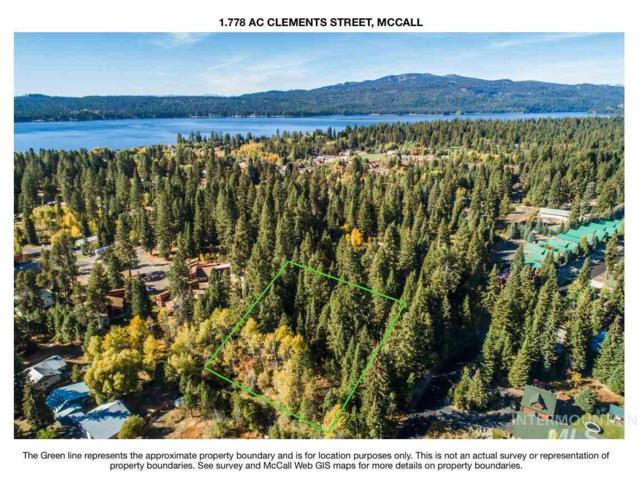 1.78 AC Clements St, Mccall, ID 83638 (MLS #98718365) :: Story Real Estate