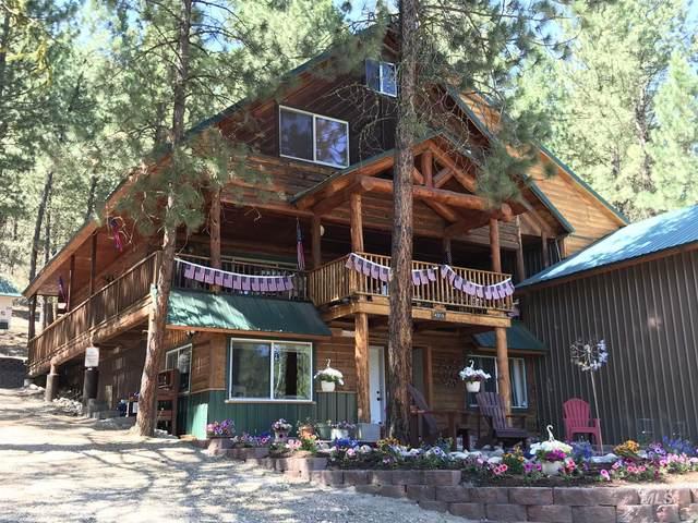 4359 N Pine Featherville Rd, Featherville, ID 83647 (MLS #98762222) :: Jon Gosche Real Estate, LLC