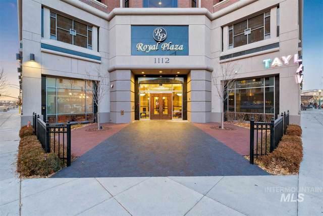 1112 W Main Street #502, Boise, ID 83706 (MLS #98746714) :: New View Team