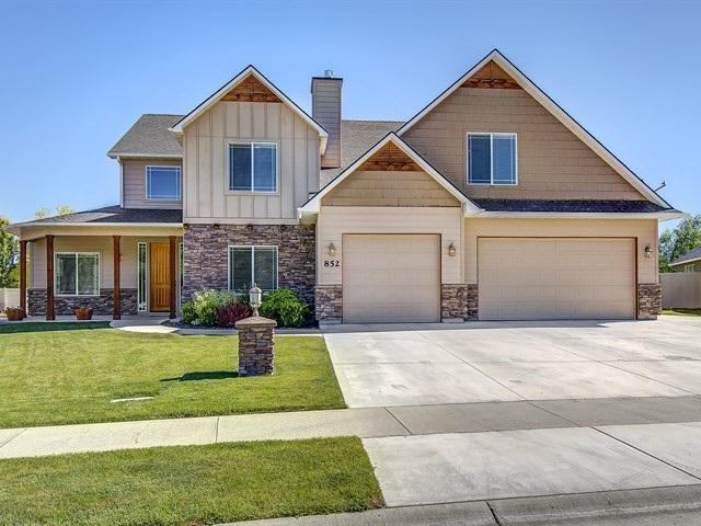 852 W Dallan Woods Way, Nampa, ID 83686 (MLS #98698899) :: Boise River Realty
